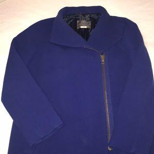 J. Crew Jackets & Coats - Jcrew petite double cloth envelope coat in purple